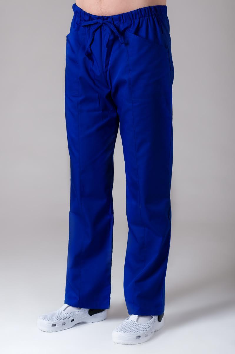 2c987e7e5355 Noe pánske nohavice- tmavo modrá - DiangeloDiangelo